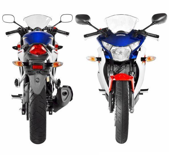 Esbelta e ágil, na prática ela demonstra as virtudes das pequenas motos urbanas