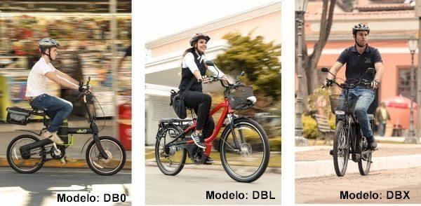 O modelo DB0 oferece a vantagem de ser dobrável