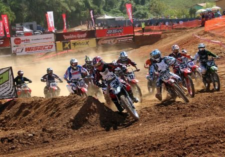 Grandes disputas no Interestadual de Motocross
