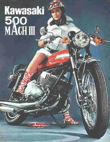 Kawasaki MachIII de 1970