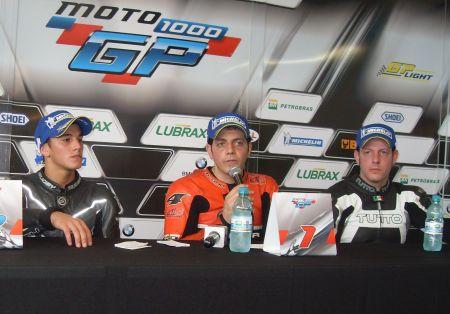 Presença marcante de Alexandre Barros, vencedor da GP 1000