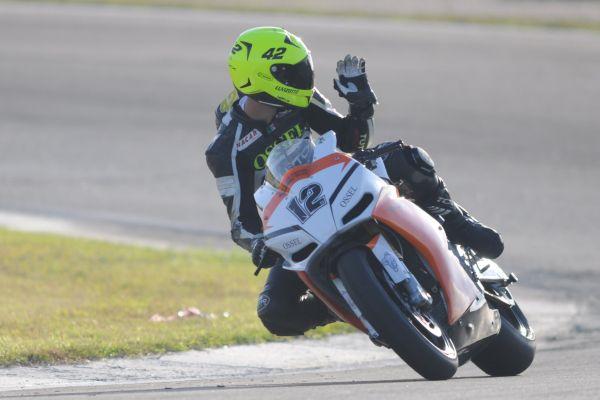 Ricieri Luvizotto, aos 19 anos, prepara-se para estrear no Espanhol de Motovelocidade