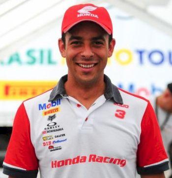 Dario Julio, piloto Honda no Rally dos Sertões