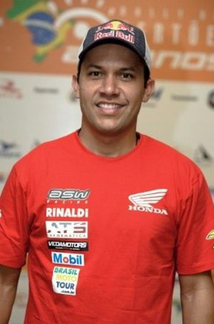 Felipe Zanol, piloto da Honda Rally Team