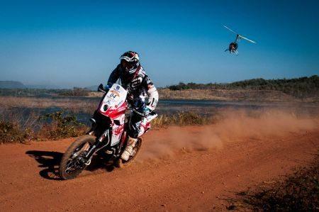 Ike Klaumann teve superaquecimento no motor da sua moto