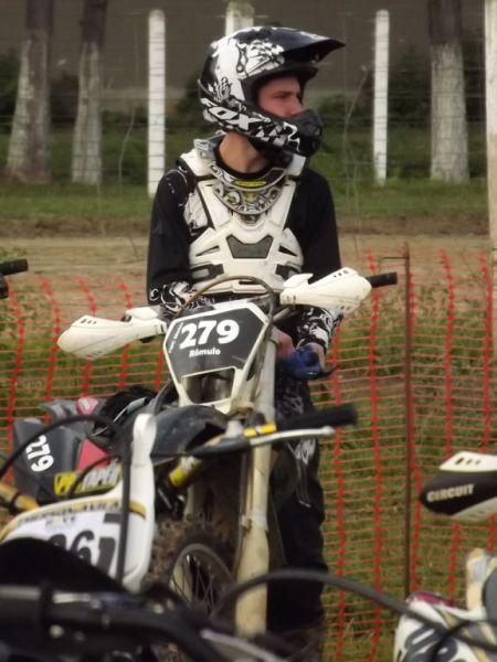 O catarinense Rômulo Chiarani do Caçador Moto Clube
