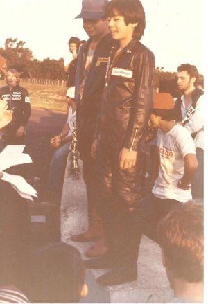 Saçaki muito jovem, logo no início da carreira