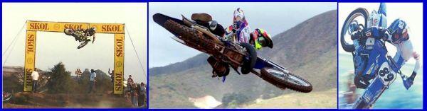 """O público comparecia às corridas para ver os saltos do """"Japonês Voador"""""""
