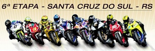 Superbike em Santa Cruz do Sul/RS