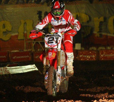 Wellington Garcia é um dos pilotos Honda que não estará no MX Nações 2012