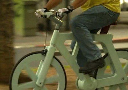 Preço da bike de papelão chega a U$90