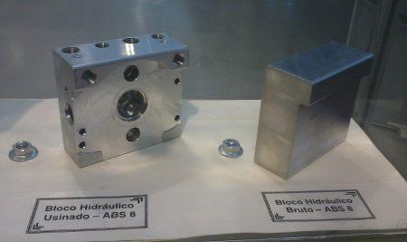 Bloco de alumínio usinado no Brasil: Bosch fabrica ABS no Brasil desde 2007, mas apenas para carros