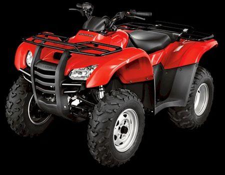 Quadricíclo: tem guidão, como nas motocicletas.