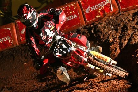 Fábio dos Santos, piloto satélite Honda na categoria Júnior do Arena Cross 2012