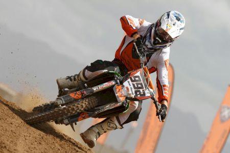 Jean Ramos representa a Escuderia X Motos na categoria principal do Brasileiro de Motocross