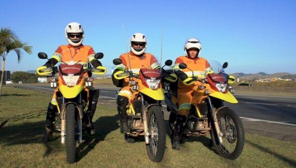 CCR NovaDutra: Motos darão agilidade no atendimento do SOS usuário
