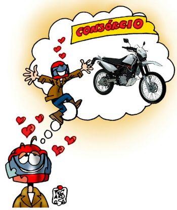 Venda de motos por consórcio cresce por dificuldade na obtenção de financiamentos