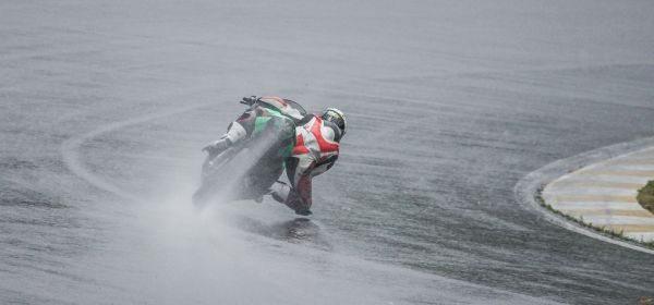 A chuva não tirou a emoção no Gaúcho de Motovelocidade