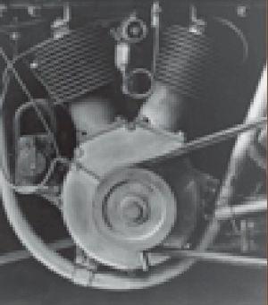 """Este foi o primeiro motor em """"V"""" fabricado pela H&D"""