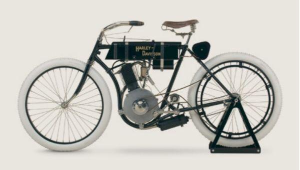 """Este é o """"Serial #1"""", primeiro modelo fabricado pela Harley-Davidson que se tem registros históricos"""