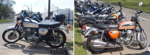 As motos parecem ter saído da concessionária ontem