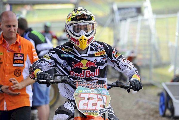 Antonio Cairoli, campeão mundial de motocross na categoria MX1