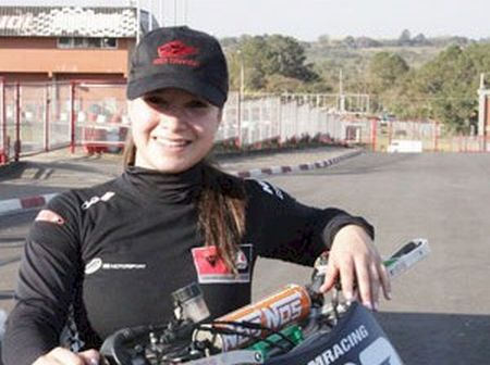 Sabrina Paiuta, campeã da Copa Ninja 2012