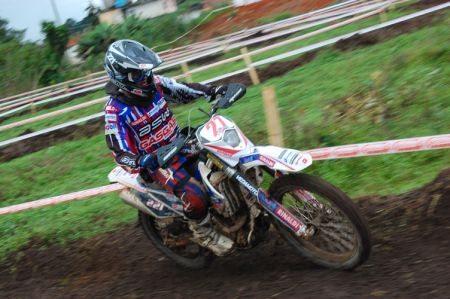 Rigor Rico, piloto da Gas Gas Racing Team noa Copa EFX Pacato