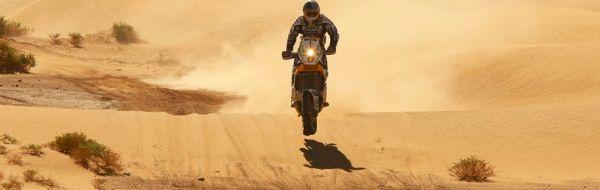 É característica do Rally do Marrocos oferecer imagens espetaculares