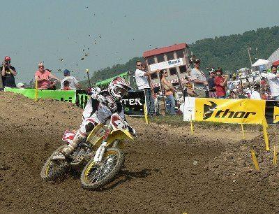 Ricky Carmichael no Motocross das Nações 2007 - O mais antigo do esporte, desde 1947