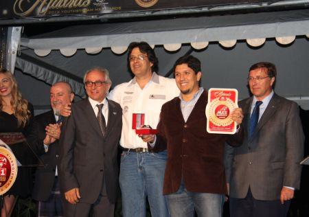 """Leandro Romagnolli e Lincoln Duarte Miranda no prêmio """"Melhor Organizador do Mundo"""", promovido pela Youthstream"""