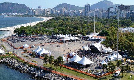 Visão geral da Marina da Glória: atrações para todos os públicos