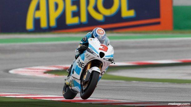 A última sessão de treinos livres de Moto2™ no Grande Prémio Aperol de São Marino e da Riviera de Rimini, disputada com piso seco, viu Simone Corsi, da Came IodaRacing Project, marcar o ritmo à frente de Mika Kallio e Marc Márquez.