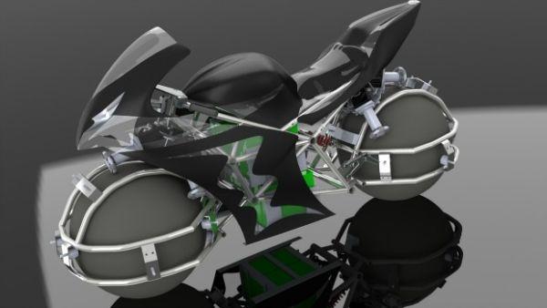 Projeto conceitual mostra possível layout da moto