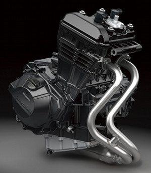 Ninjinha 2013: novo motor