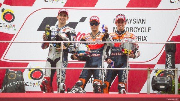 Lorenzo, Pedrosa, Stoner, Yamaha Factory Racing, a Repsol Honda Team, Sepang RAC