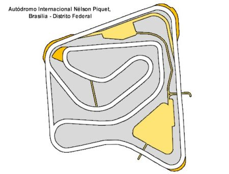 Autódromo de Brasília precisa de reformas urgentes
