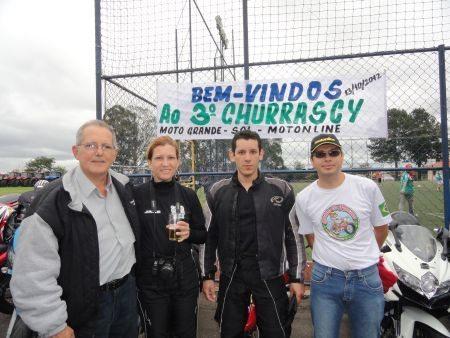 Motonliners marcando presença no Churrascy 2012 - Mário Sérgio, Jake Nunes, Jota Nunes e Donytello
