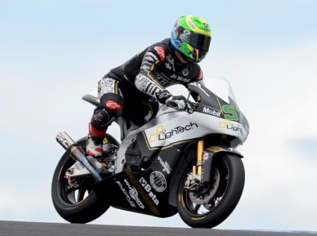 Erik Granado prepara-se para última etapa da Moto2™
