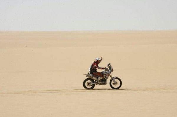 Um mar de areia até onde a vista alcança