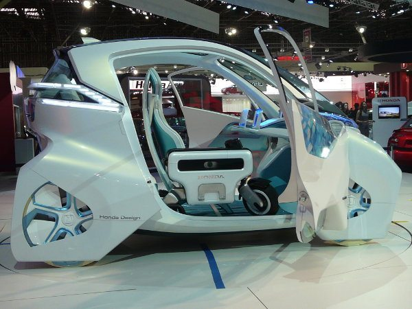 Honda Micro Comuter: carrinho elétrico com uma motinho também elétrica