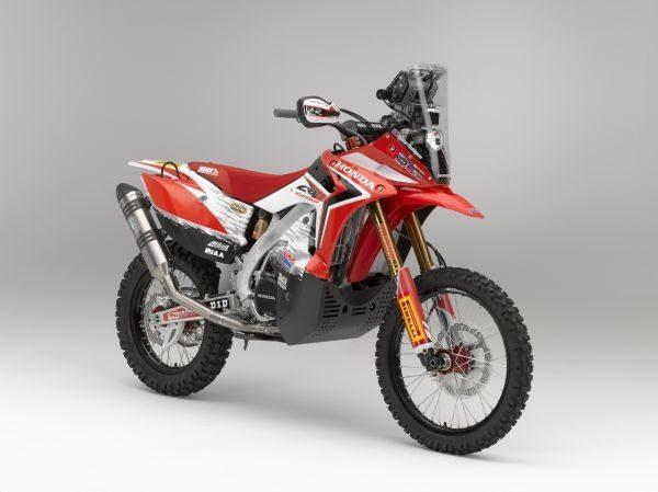 Será esta a motocicleta que o brasileiro Felipe Zanol irá pilotar no Rally Dakar 2013