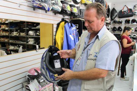Ipem/SP realiza fiscalização de capacetes na cidade de São paulo