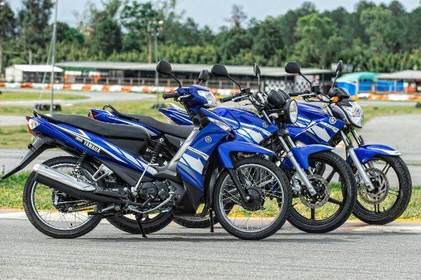 """Linha Yamaha """"Racing Blue""""; só três modelos por enquanto"""