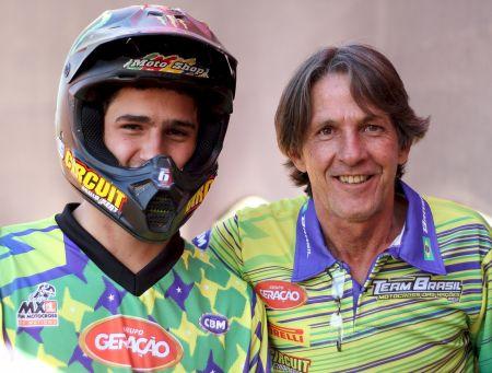 Gabriel Gentil e Manuel Carlos Hermano