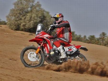 Zanol enfrentou até tempestade de areia na etapa de hoje (18)