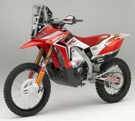 É com uma Honda CRF 450 Dakar que Zanol buscará o troféu do Dakar 2013
