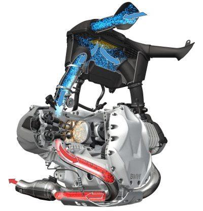 Novo motor com alimentação vertical dá maior velocidade no fluxo de ar-combustível para maior eficiência