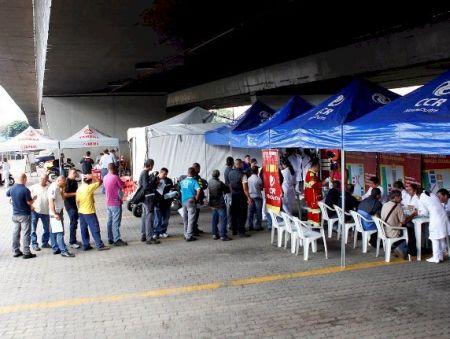 """A ação """"Estrada para a Saúde - Motos"""" promovida pela CCR Nova Dutra acontece nesta 5ª feira em São José dos Campos (SP)"""