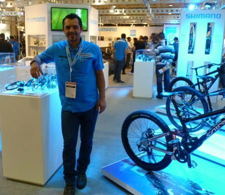 Ronaldo Humm, da Shimano, um dos professores de mecânica de qualidade; excelente trabalho